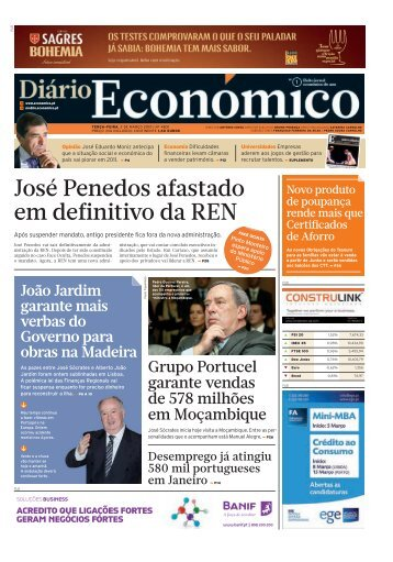 destaque - Económico - Sapo