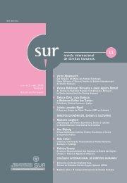 revista internacional de direitos humanos - Sur