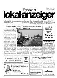 Gewerbeausstellung Neukirch-Egnach 15. bis 18. April 2010