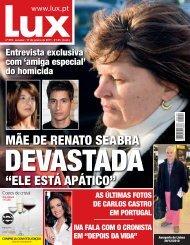 Leia toda a entrevista na edição impressa disponível para ... - Lux - Iol
