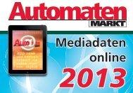 Mediadaten online - AutomatenMarkt