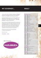 WAIBEL Berufsbekleidung Katalog 2012 - Seite 3