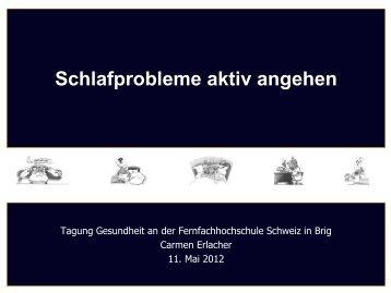 (auch am Wochenende) regelmäßige Aufsteh - Fernfachhochschule ...