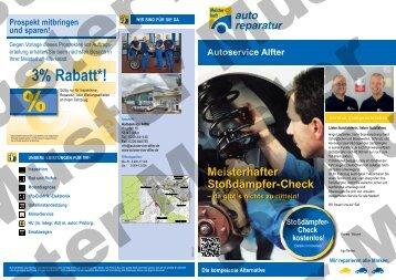 3% rabatt*! - Autoservice Alfter