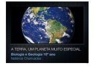 A Terra, um planeta muito especial