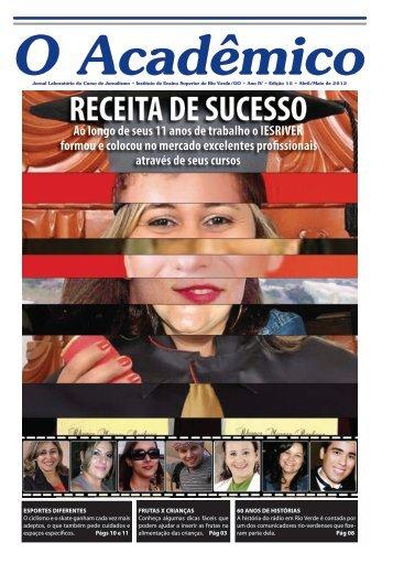 15ª Edição - Abril/Maio de 2012 - Faculdade Objetivo