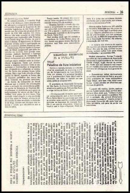,«5=^ história 2 - Centro de Documentação e Pesquisa Vergueiro