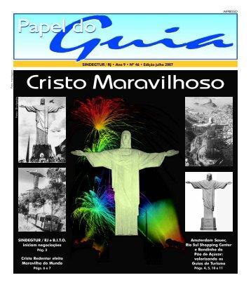 JORNAL PAPEL DO GUIA 46 julho2007 - Guias de Turismo