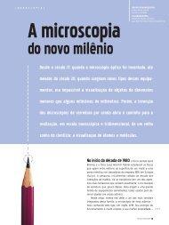 Desde o século 17, quando o microscópio óptico foi ... - CBPF