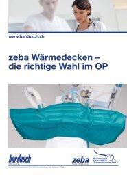 Flyer Wärmedecken - Bardusch AG