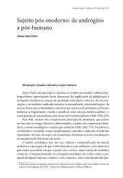 Sujeito pós-moderno: de andrógino a pós-humano - Revista ...