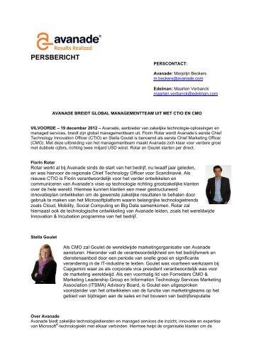 Read press release - Avanade