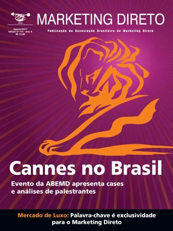 Revista Marketing Direto - Número 111, Ano 11, Agosto 2011 - Abemd