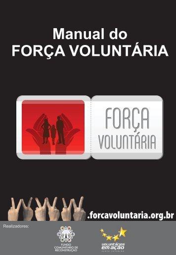 Manual do FORÇA VOLUNTÁRIA - ICom