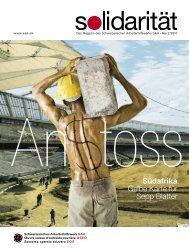 Nummer 2-2010 - Schweizerisches Arbeiterhilfswerk
