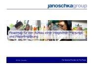 Roadmap für den Aufbau einer integrierten Planungs - Avantum.de