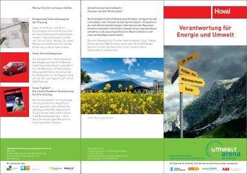 Verantwortung für Energie und Umwelt - Hoval Herzog AG
