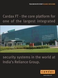 Cardax FT - the core  platform for one of the largest integrated ...