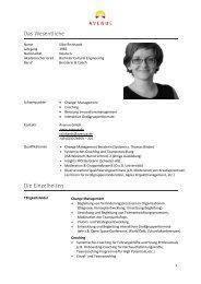 Profil Silke Reinhardt - Avenue.de