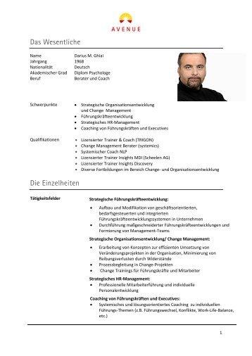 Profil Darius Ghiai - Avenue.de