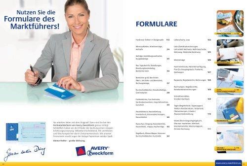Avery Zweckform Formularbuch  Formularbücher  222  223  302  321  333  427  428