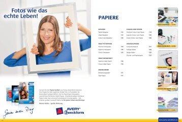 papiere - Avery Zweckform