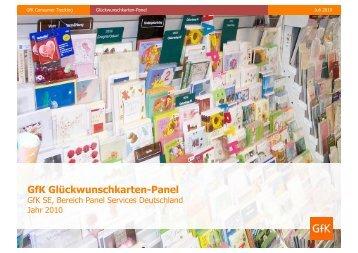 GfK Glückwunschkarten-Panel