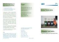Grüne Tonne plus Altpapier und mehr... - AVR