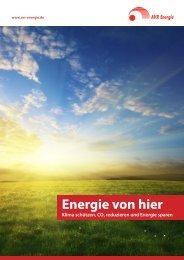 Imagebroschüre AVR Energie GmbH