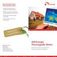 AVR Energie Thermografie-Aktion