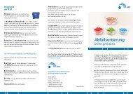 Tipps zur Abfallsortierung 2013 - AVR