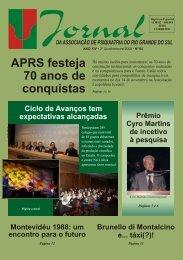 V65 N°2 - Associação de Psiquiatria do RS