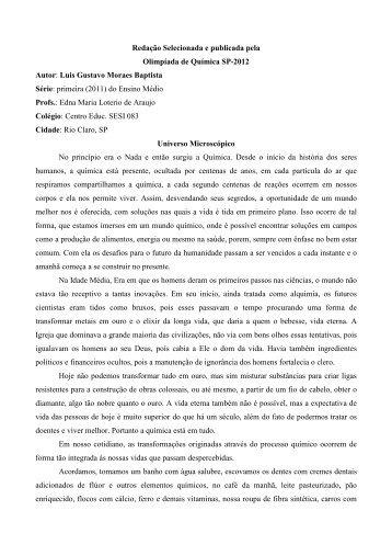 Luca Gomes Pereira V. Lorenzini - AllChemy