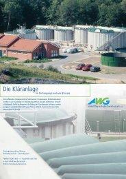 Kläranlage - AWG - Bassum