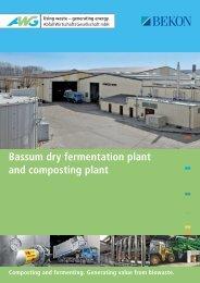 Bassum dry fermentation plant and composting plant - AWG - Bassum