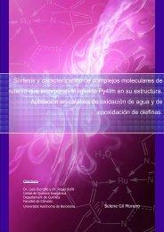 Síntesis y caracterización de complejos moleculares de ... - Recercat