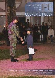 """revista """"Querer é Poder"""" - Instituto Pupilos do Exército"""