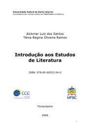 Introdução aos Estudos de Literatura - Letras Libras - UFSC