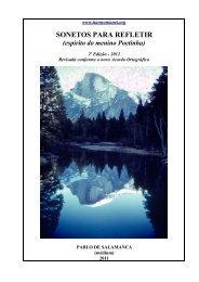 Livro 10 - SONETOS PARA REFLETIR - grupo harmonianet