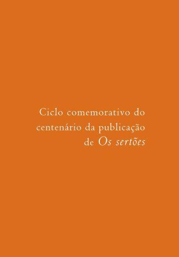 Ciclo comemorativo - Academia Brasileira de Letras