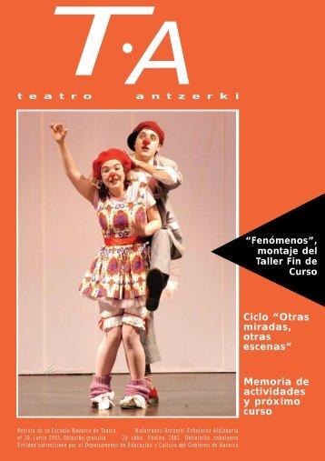 TA - Escuela Navarra de Teatro