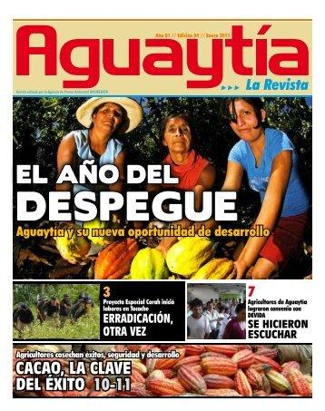revista Aguaytía