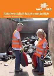 Abfallwirtschaft leicht verständlich - AWG ...