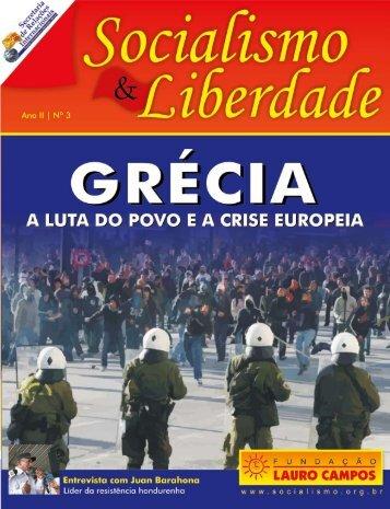 A crise grega - Fundação Lauro Campos