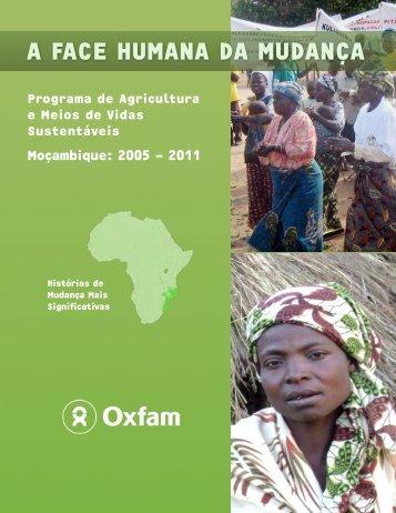 moçambique 2005 - 2011 - Oxfam Canada