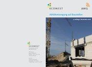 Abfallentsorgung auf Baustellen - AWG Abfallwirtschaftsgesellschaft ...