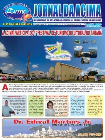 a acima participa do 1º festival de turismo do litoral do paraná