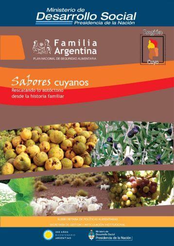 Recetas Cuyo - Ministerio de Desarrollo Social