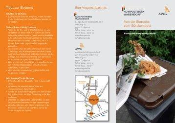 Ihre Ansprechpartner: Von der Biotonne zum Gütekompost Tipps zur ...