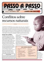 Conflitos sobre recursos naturais
